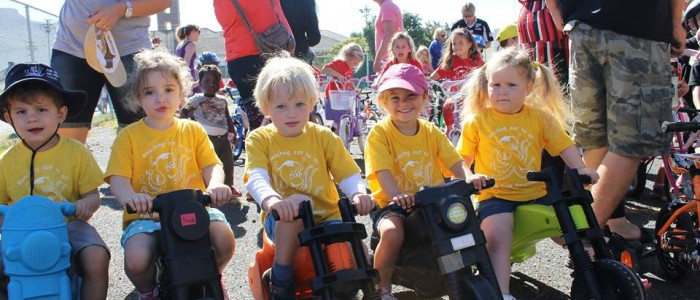 Fish Hoek Pre-Primary Tour de Fish Hoek bike fun